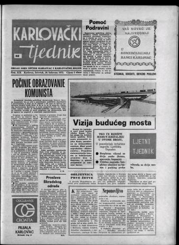 Karlovački tjednik: 1972 • 32