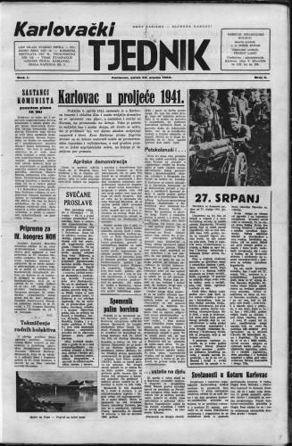Karlovački tjednik: 1953 • 4
