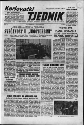 Karlovački tjednik: 1956 • 31