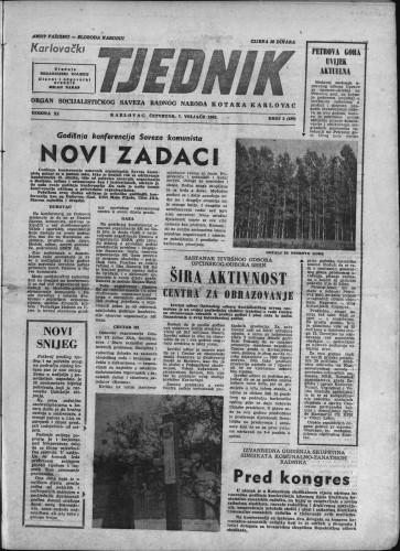 Karlovački tjednik: 1963 • 5
