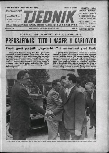 Karlovački tjednik: 1960 • 24