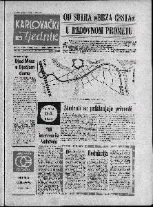 Karlovački tjednik: 1973 • 50