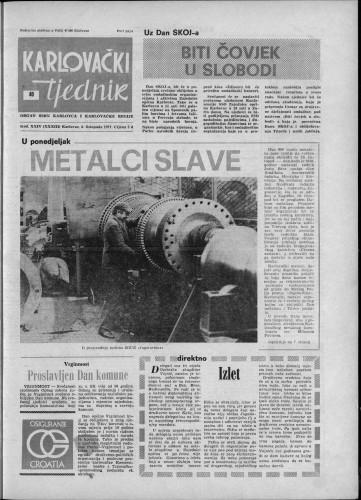 Karlovački tjednik: 1977 • 40