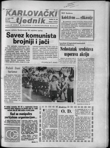 Karlovački tjednik: 1980 • 24