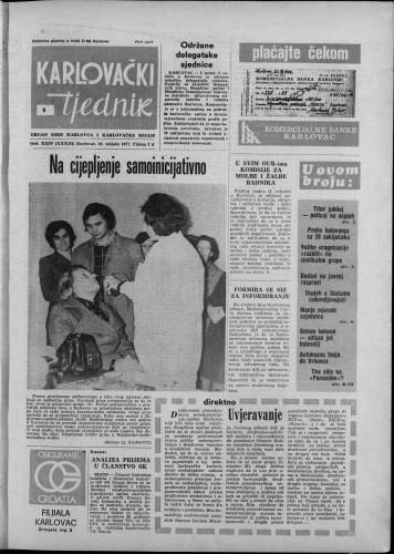 Karlovački tjednik: 1977 • 6