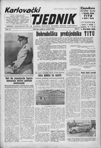 Karlovački tjednik: 1955 • 6