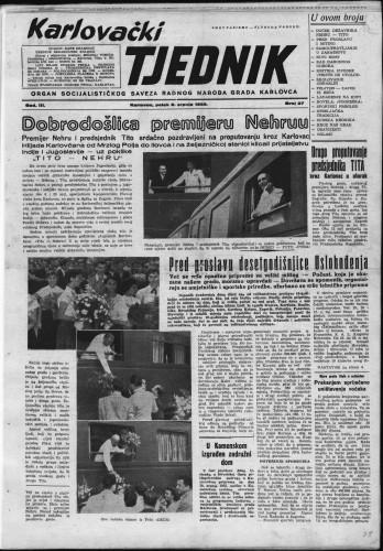 Karlovački tjednik: 1955 • 27
