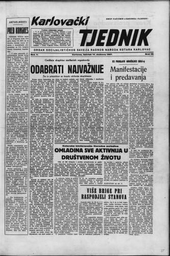 Karlovački tjednik: 1957 • 46