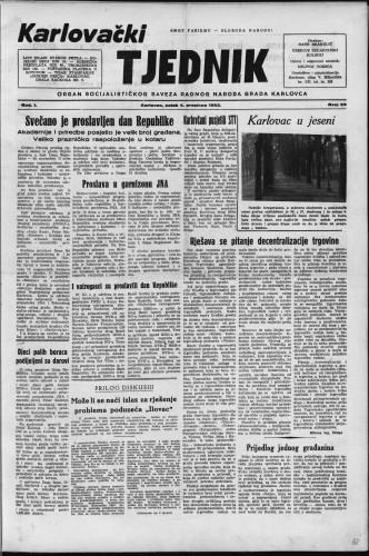 Karlovački tjednik: 1953 • 23