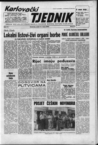Karlovački tjednik: 1956 • 37