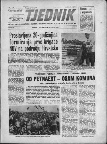 Karlovački tjednik: 1962 • 24