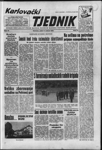 Karlovački tjednik: 1956 • 19