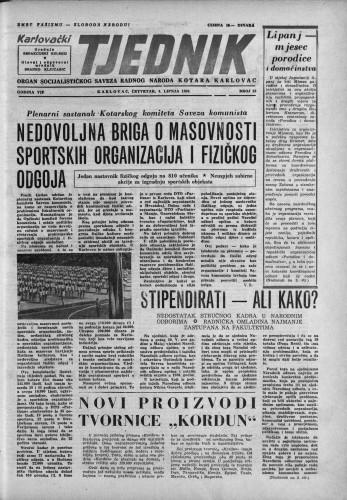 Karlovački tjednik: 1959 • 23