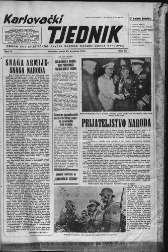 Karlovački tjednik: 1954 • 52