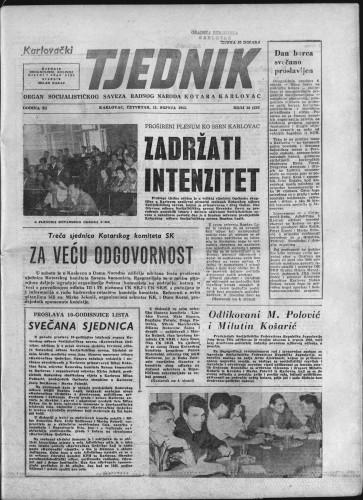 Karlovački tjednik: 1963 • 26