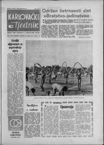 Karlovački tjednik: 1977 • 24