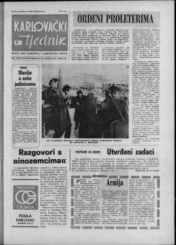 Karlovački tjednik: 1977 • 51