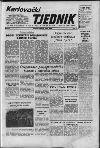 Karlovački tjednik: 1956 • 23