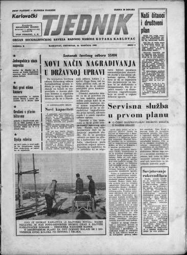 Karlovački tjednik: 1962 • 3