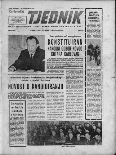 Karlovački tjednik: 1962 • 42