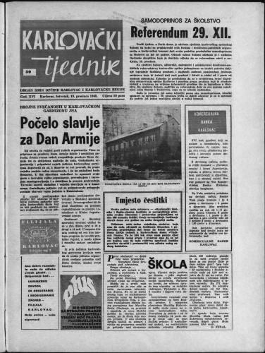Karlovački tjednik: 1968 • 50
