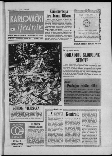 Karlovački tjednik: 1973 • 6
