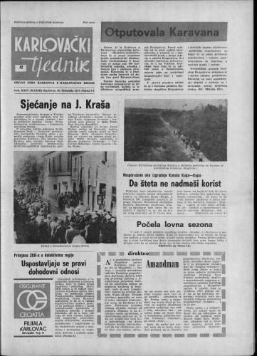 Karlovački tjednik: 1977 • 42