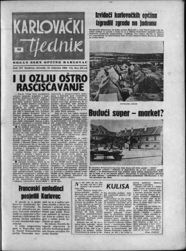 Karlovački tjednik: 1966 • 32