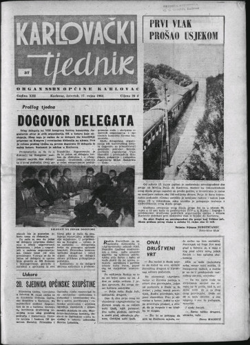 Karlovački tjednik: 1964 • 37