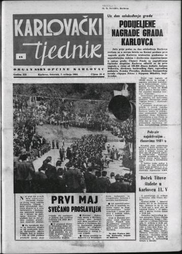 Karlovački tjednik: 1964 • 18