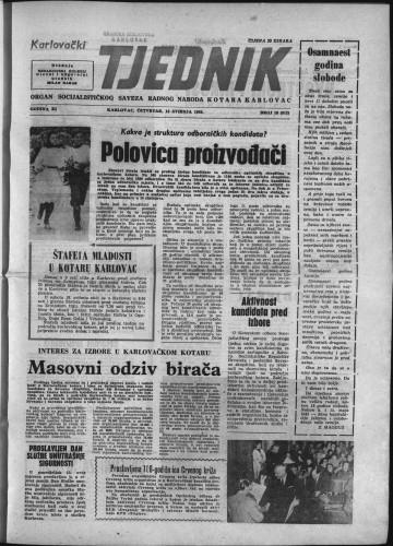 Karlovački tjednik: 1963 • 18