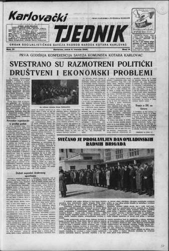 Karlovački tjednik: 1956 • 14