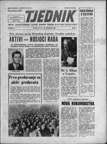 Karlovački tjednik: 1962 • 41