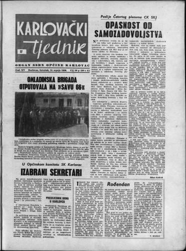 Karlovački tjednik: 1966 • 27