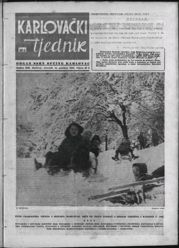 Karlovački tjednik: 1964 • 52