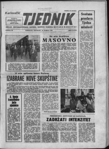 Karlovački tjednik: 1963 • 20