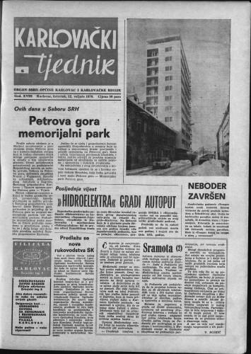 Karlovački tjednik: 1970 • 6
