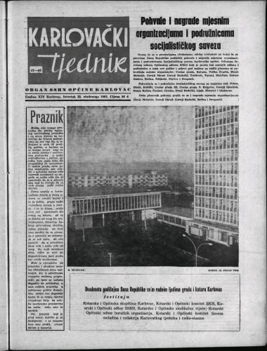 Karlovački tjednik: 1965 • 47
