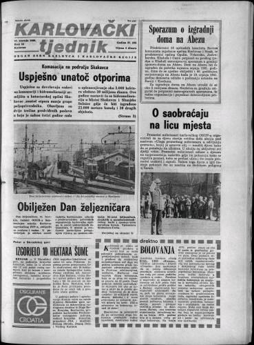Karlovački tjednik: 1980 • 16