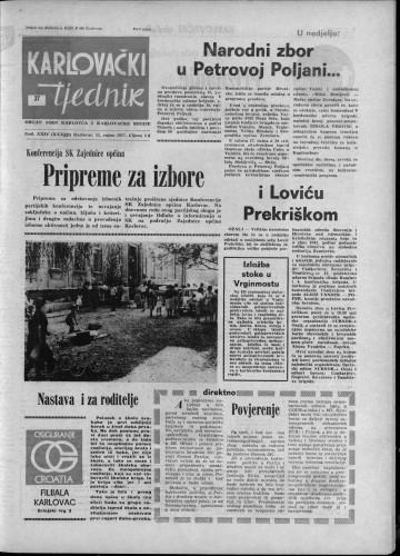 Karlovački tjednik: 1977 • 37
