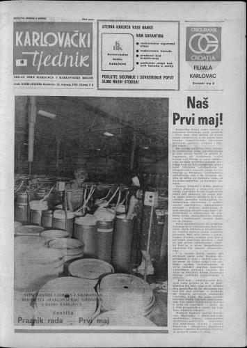 Karlovački tjednik: 1976 • 18