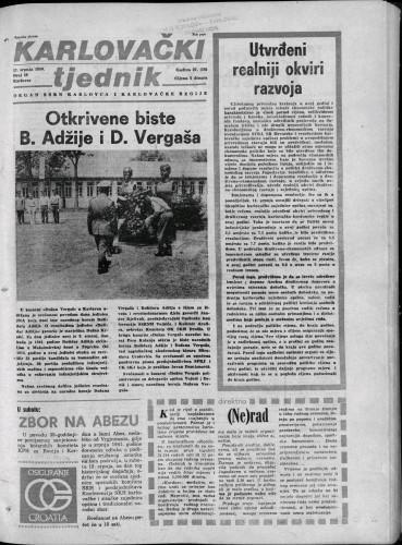 Karlovački tjednik: 1980 • 28