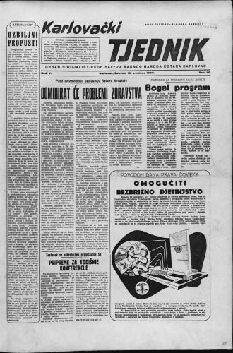 Karlovački tjednik: 1957 • 50