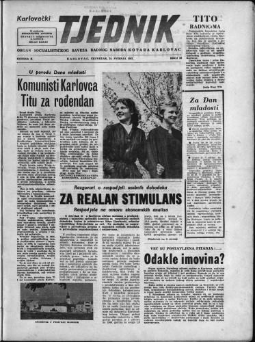 Karlovački tjednik: 1962 • 20