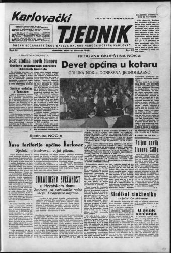 Karlovački tjednik: 1956 • 50
