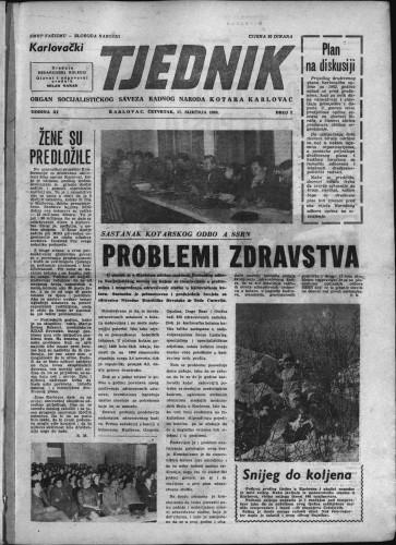 Karlovački tjednik: 1963 • 2