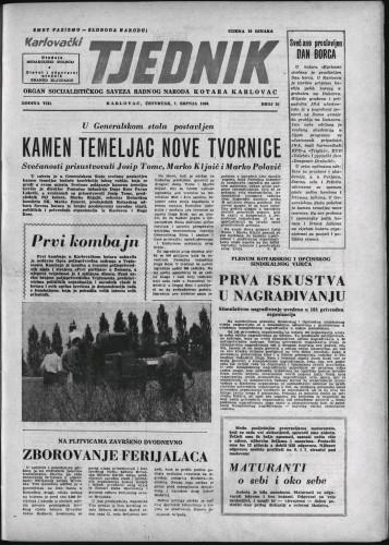 Karlovački tjednik: 1960 • 26