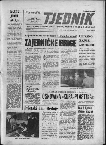 Karlovački tjednik: 1963 • 42