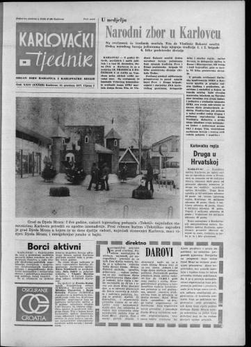 Karlovački tjednik: 1977 • 50