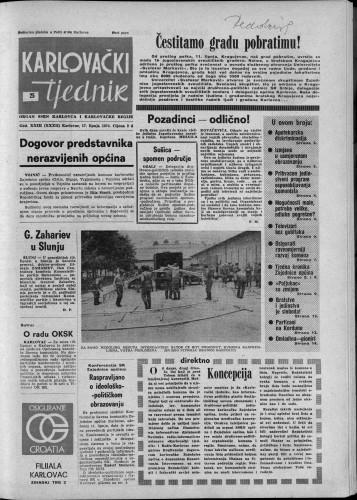 Karlovački tjednik: 1976 • 25